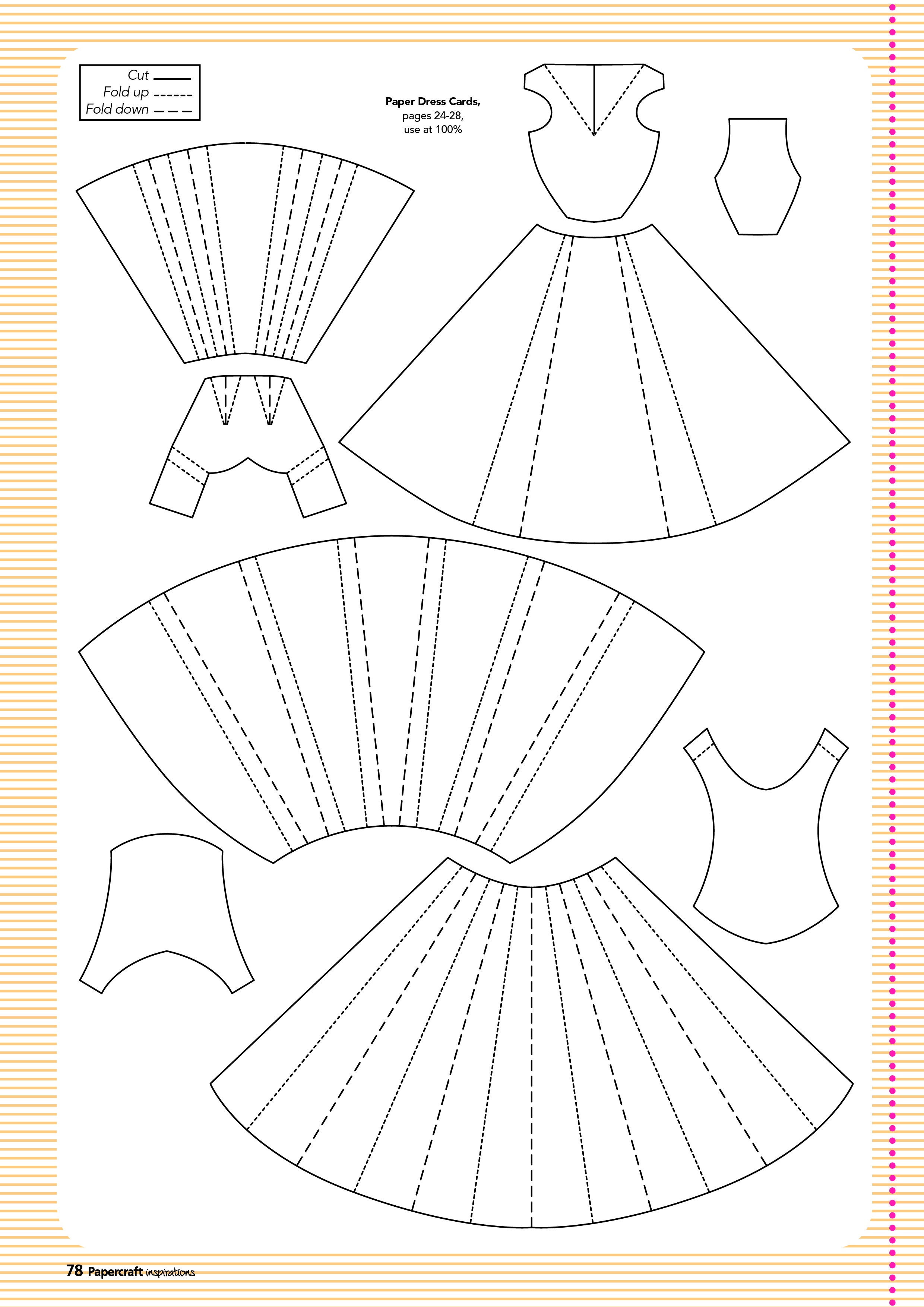 Free Templates From Papercraft Inspirations 129 | Card Design - Free Card Making Templates Printable