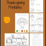 Free Thanksgiving Printable Activity Sheets! | Thanksgiving & Fall   Free Printable Kindergarten Thanksgiving Activities