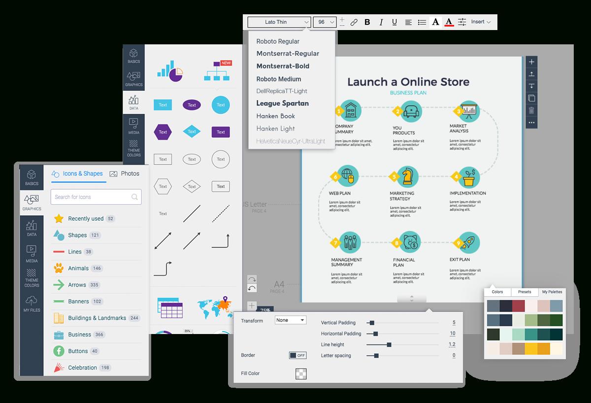 Free Timeline Maker | Timeline Creator | Visme - Free Timeline Creator Printable
