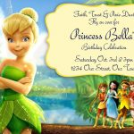 Free Tinkerbell Birthday Invitation Templates | Birthdays   Free Tinkerbell Printable Birthday Invitations