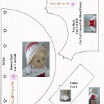 """Free Traditional Swedish Outfit Pattern For 18"""" Dolls   Bonnet   18 Inch Doll Clothes Patterns Free Printable"""