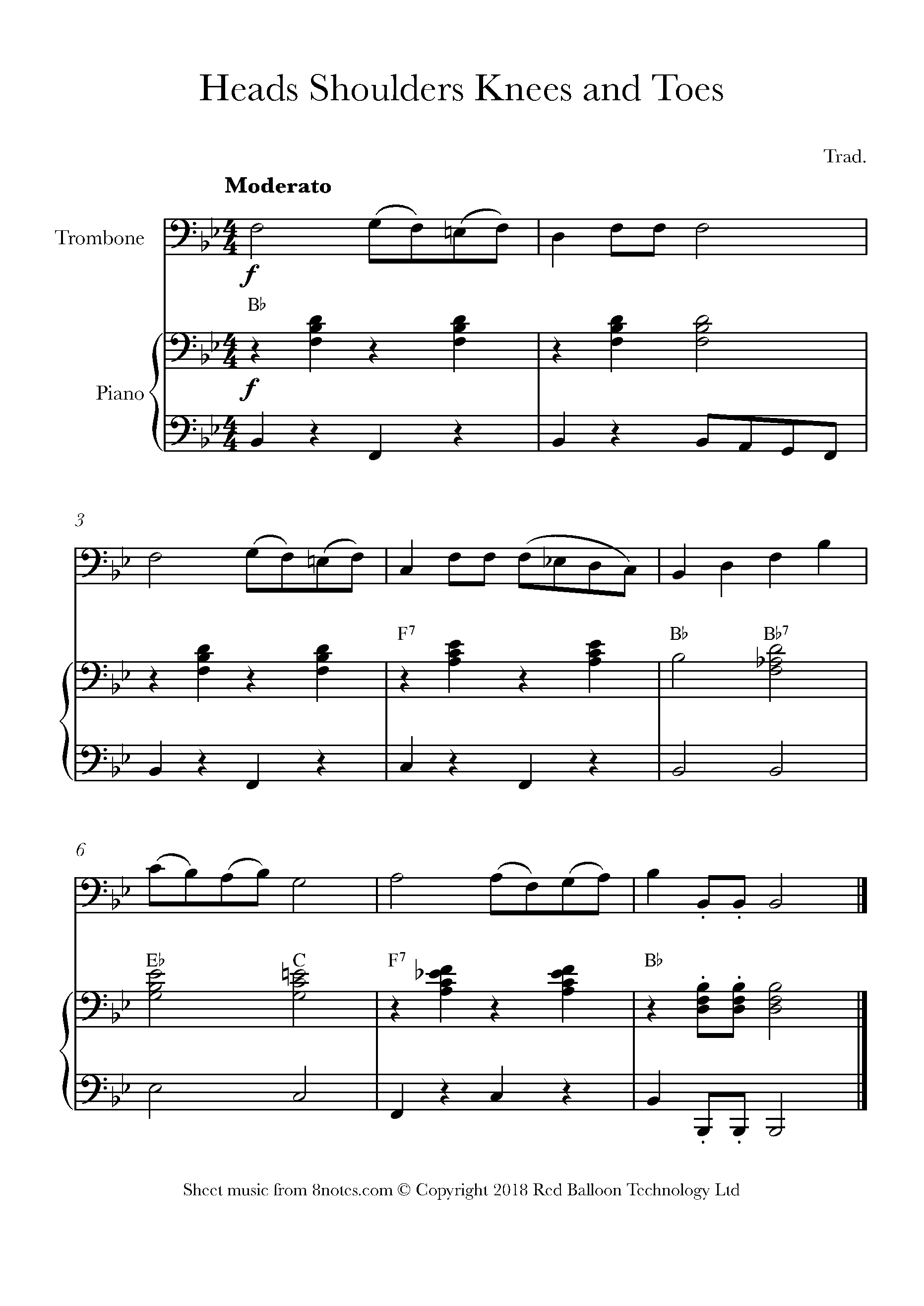 Free Trombone Sheet Music, Lessons & Resources - 8Notes - Trombone Christmas Sheet Music Free Printable