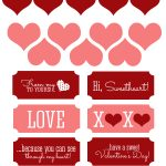 Free Valentine Printable And Heart Candy Jar   The 36Th Avenue   Free Valentine Printables