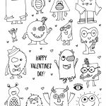 Free Valentines Coloring Page Printable   Eye Power Kids Wear   Free Printable Valentine Coloring Pages