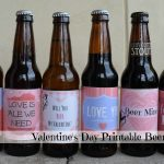 Free Valentine's Day Beer Label Printables | Things | Beer Label   Free Beer Printables