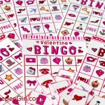 Free Valentines Day Printable Bingo Game   Free Bingo Printable