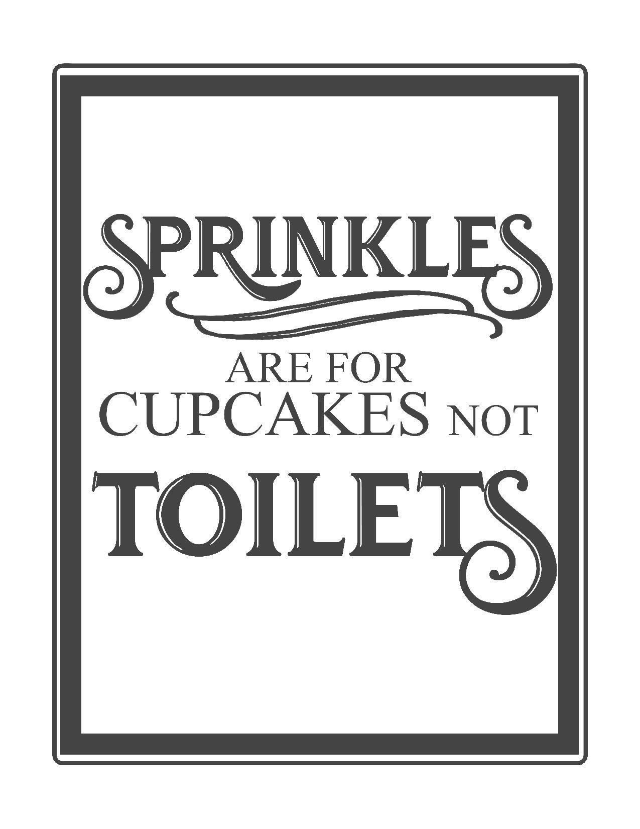 Free Vintage Bathroom Printables | Printables ** | Vintage Bathrooms - Free Printable Do Not Flush Signs