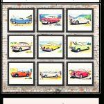 Free Vintage Car Printables | Cards   Downloadable Resources   Free Printable Nursery Resources