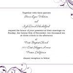 Free Wedding Invitation Templates For Word | Marina Gallery Fine Art   Free Printable Wedding Invitation Templates For Word