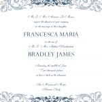 Free Wedding Invitation Templates For Word | Wedding Invitation   Free Printable Wedding Cards