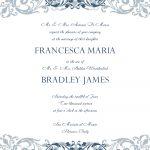 Free Wedding Invitation Templates For Word | Wedding Invitation   Free Printable Wedding Invitation Templates For Word