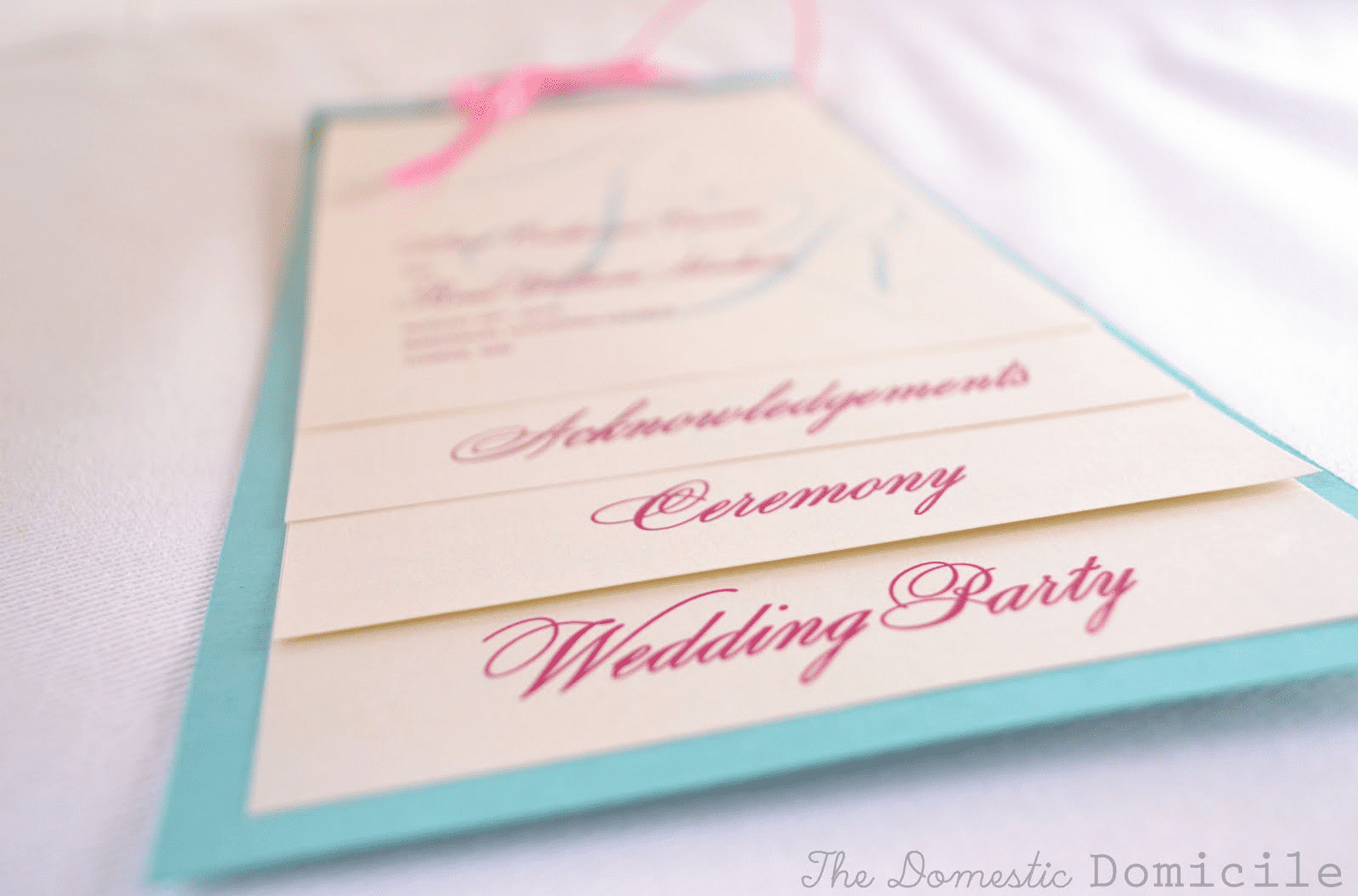 Free Wedding Program Templates You Can Customize - Free Printable Wedding Programs