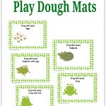 Frog Life Cycle Play Dough Activity   Pre K Pages   Life Cycle Of A Frog Free Printable Book