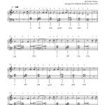 Frosty The Snow Mansteve Nelson Piano Sheet Music | Intermediate   Free Printable Frosty The Snowman Sheet Music