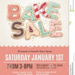 Fun Cookie Bake Sale Flyer Template   Download From Over 56 Million   Free Printable Flyer Templates