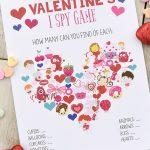 Fun Valentine Games To Print & Play | Valentine's Day | Valentines   Free Printable Valentine Word Games