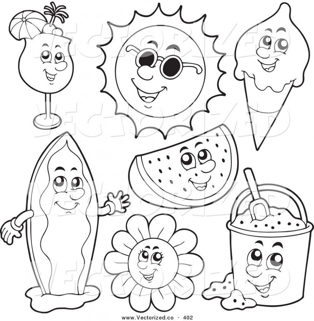 Fundamentals Summer Coloring Pages Free Printable Download Xsibe 10 - Free Printable Summer Coloring Pages