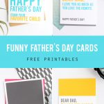 Funny Father's Day Cards You Can Print At Home   It's Always Autumn   Free Printable Funny Father's Day Cards