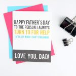 Funny Father's Day Cards You Can Print At Home | Printables For Kids   Free Printable Funny Father's Day Cards