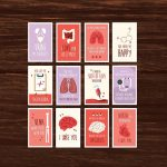 Funny Nurse Valentine's Day Card Full Set Download 12 | Etsy   Nurses Week 2016 Cards Free Printable
