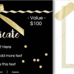 Gift Certificate Template With Logo   Free Printable Photography Gift Certificate Template