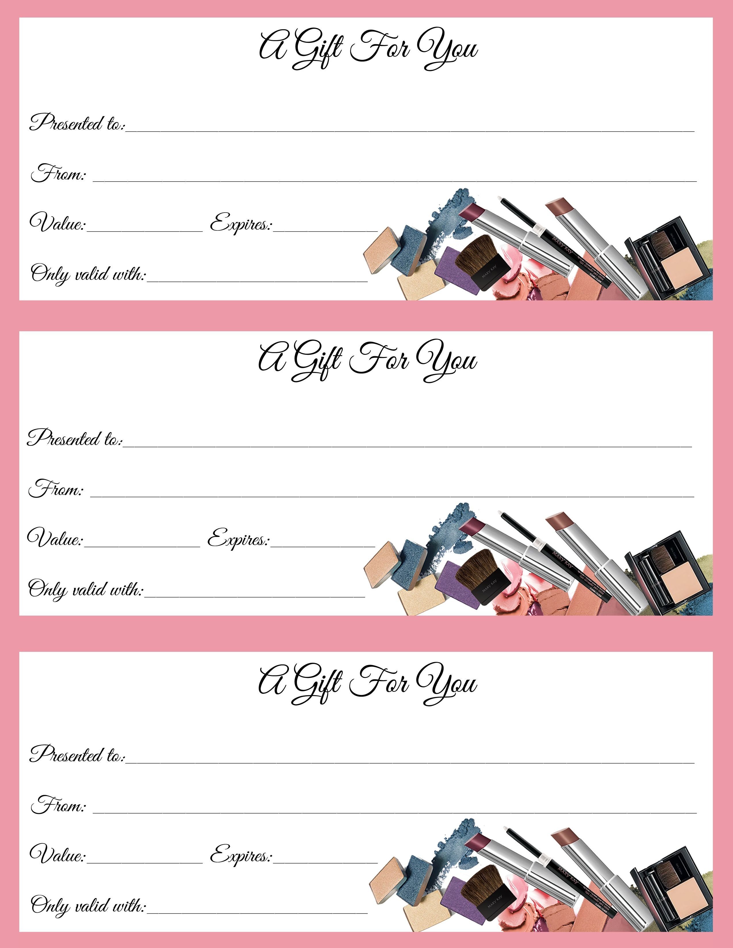 Gift Certificates Just In Time For Call Or Text To Order Jen Patrick - Free Printable Gift Coupons