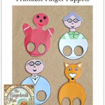 Gingerbread Man Finger Puppets Pinterest | New Teachers   Free Printable Version Of The Gingerbread Man Story