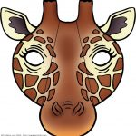Giraffe Mask | Masks Be Anyone Or Anything Free Printable   Giraffe Mask Template Printable Free