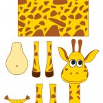 Giraffe Templates. Powerpoint Templates Nature Giraffe Animals   Giraffe Mask Template Printable Free