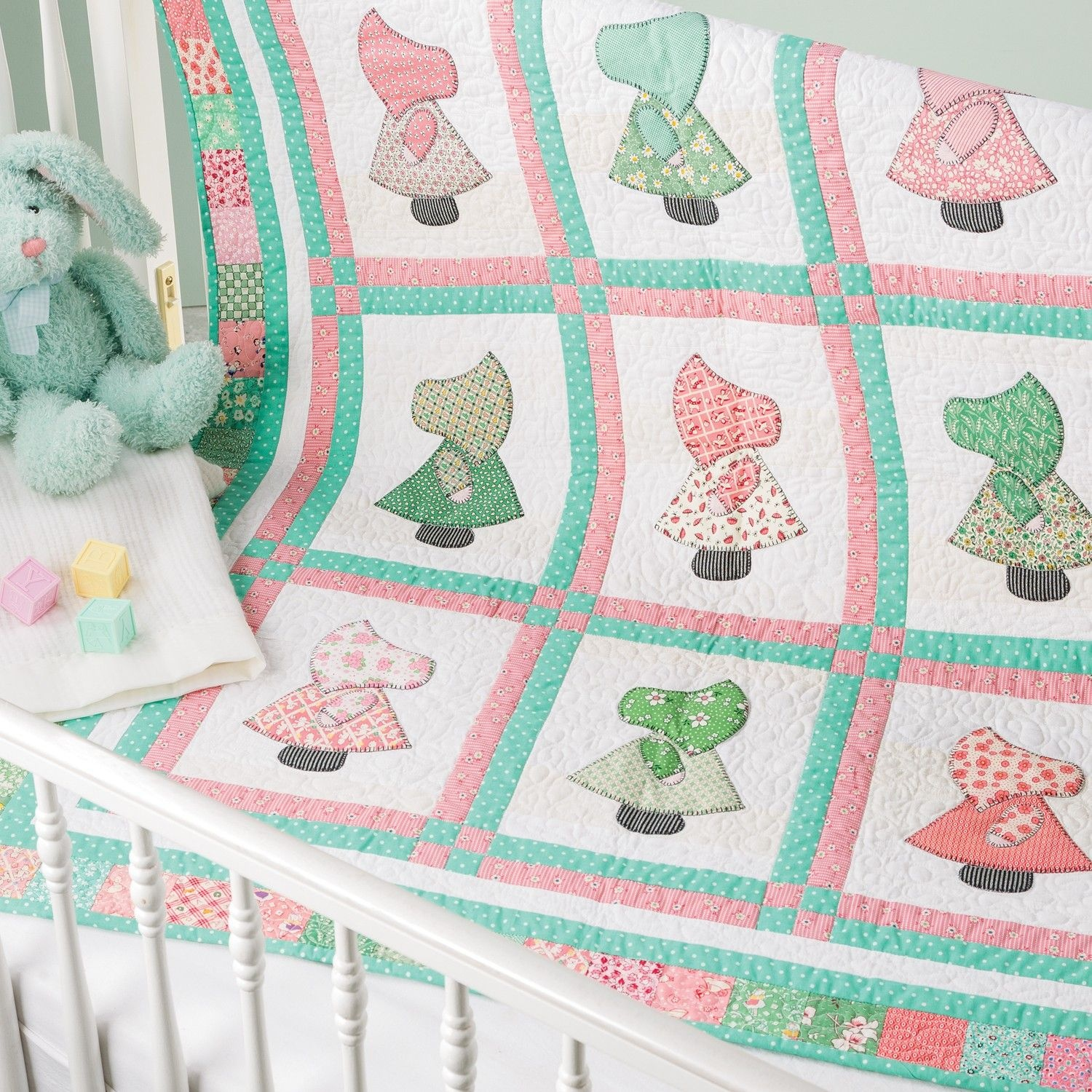 Go! Sunny Sue Baby Quilt Pattern | New Quilting Patterns | Baby - Free Printable Dutch Girl Quilt Pattern