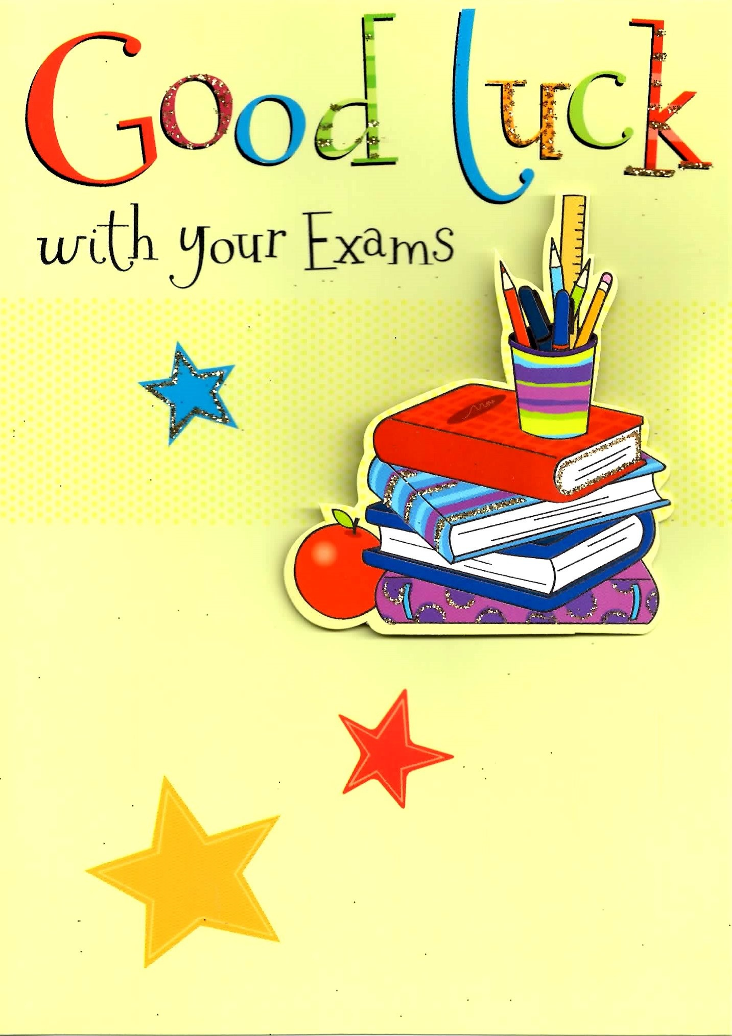 Good Luck With Your Exams Greeting Card | Cards - Free Printable Good Luck Cards