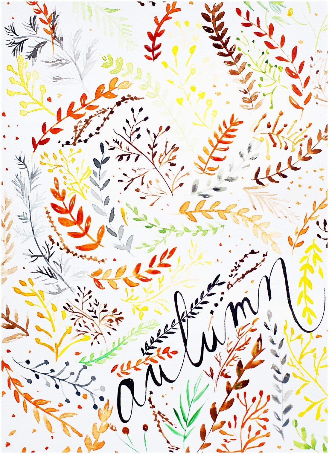Grab This Pretty Free Autumn Printable! So Lovely♥ - Free Autumn Printables
