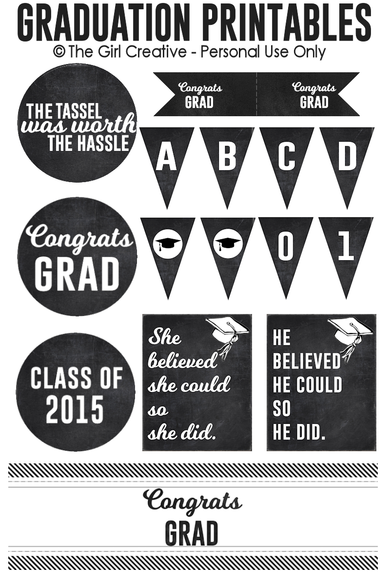 Graduation Printables | Best Of Pinterest | Graduation, Graduation - Free Printable Graduation Signs