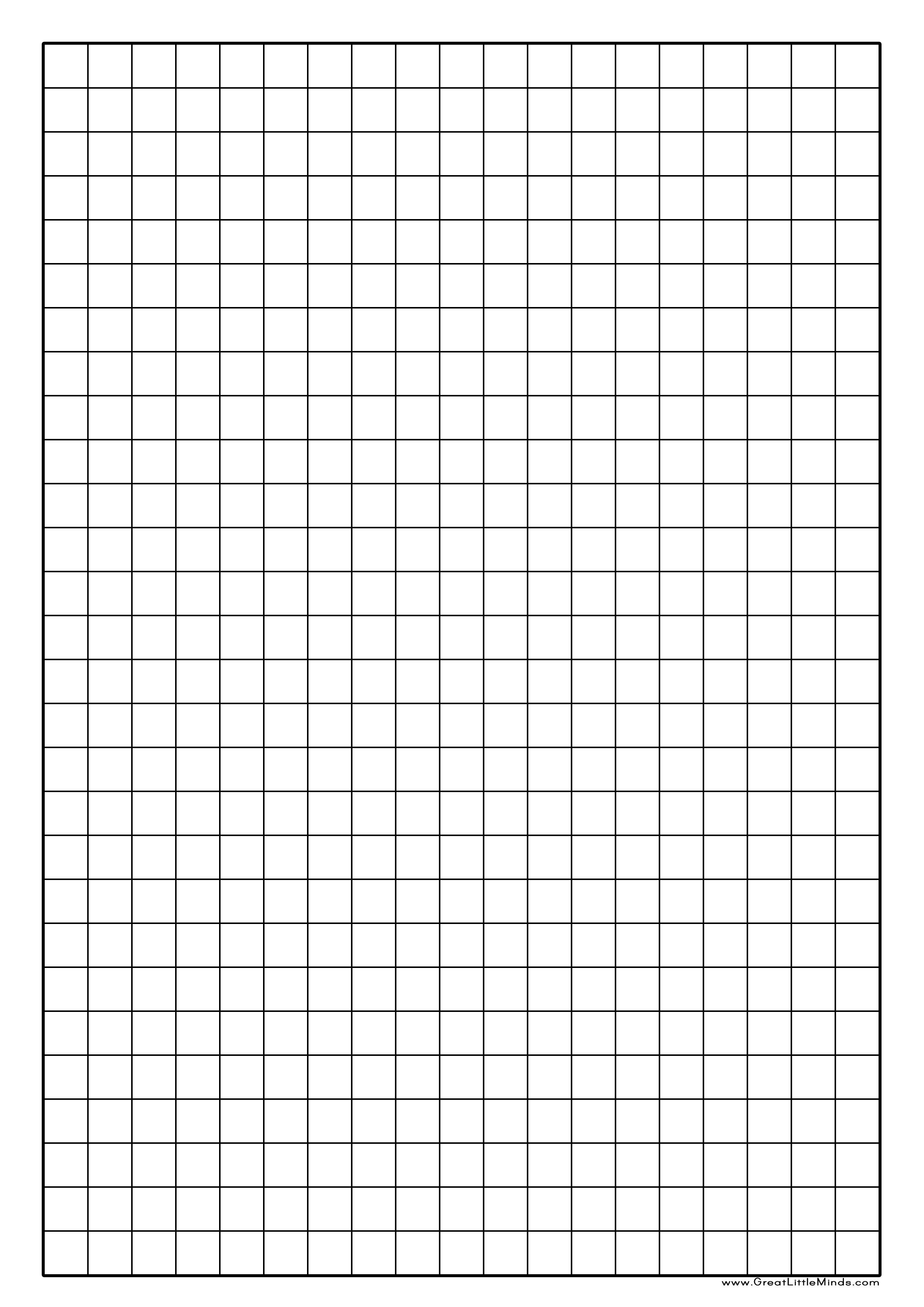 Graph Paper Printable | Click On The Image For A Pdf Version Which - Half Inch Grid Paper Free Printable