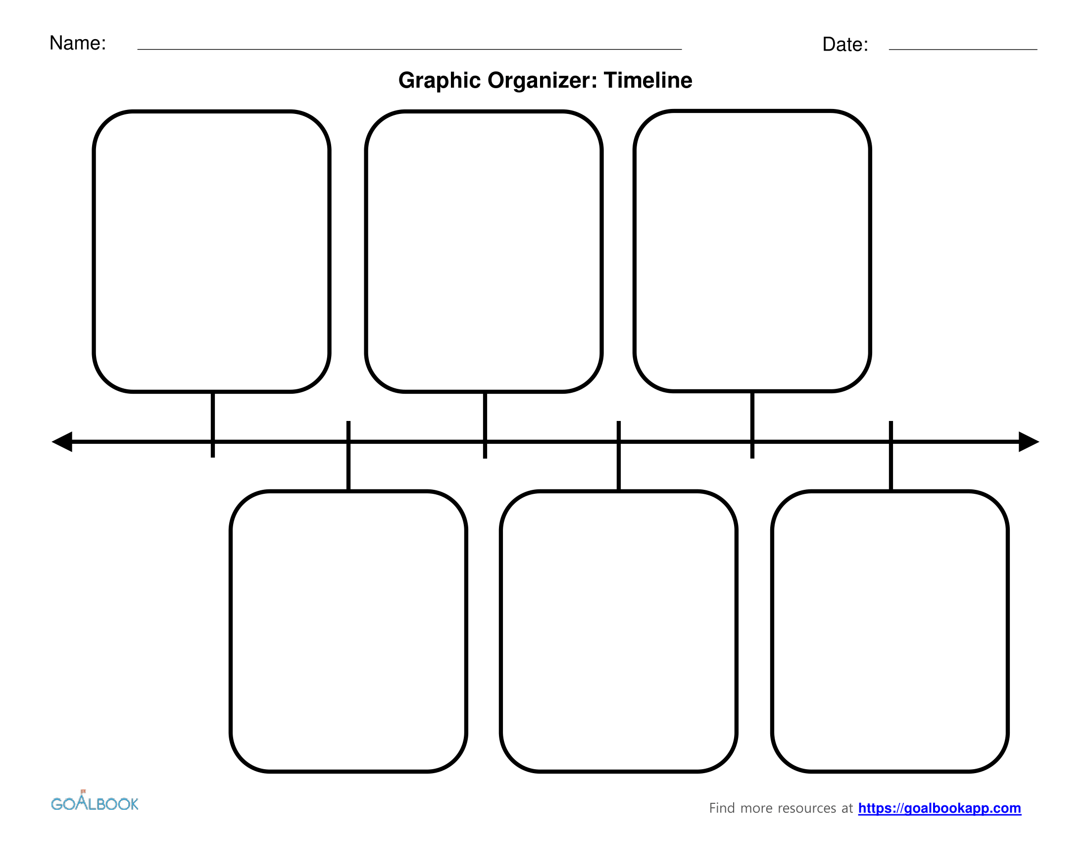 Graphic Organizers | Udl Strategies - Goalbook Toolkit - Free Printable Sequence Of Events Graphic Organizer