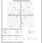 Graphing+Points+On+Coordinate+Plane+Worksheet | Preschool Idea   Free Printable Coordinate Graphing Worksheets
