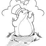 Groundhog Coloring Pages Preschool 14 #3039   Free Groundhog Printables Preschool