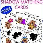 Groundhog Day Activities For Prek With Free Shadow Matching Cards   Free Groundhog Printables Preschool