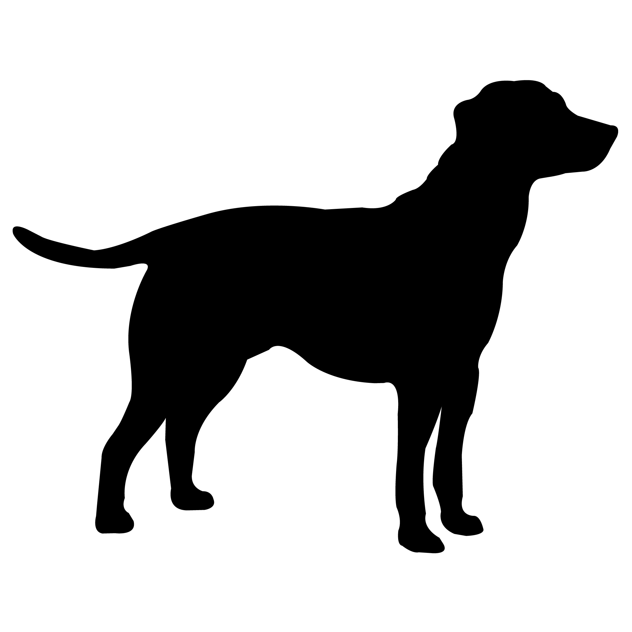 Halloween Dog Silhouette | Download Free Silhouettes - Free Printable Dog Silhouettes