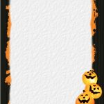 Halloween Stationery | Table Of Contents Or Index Of Stationery   Free Printable Halloween Stationery Borders