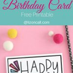 Hand Lettered Free Printable Birthday Card | Lettering | Free   Free Printable Birthday Cards For Your Best Friend