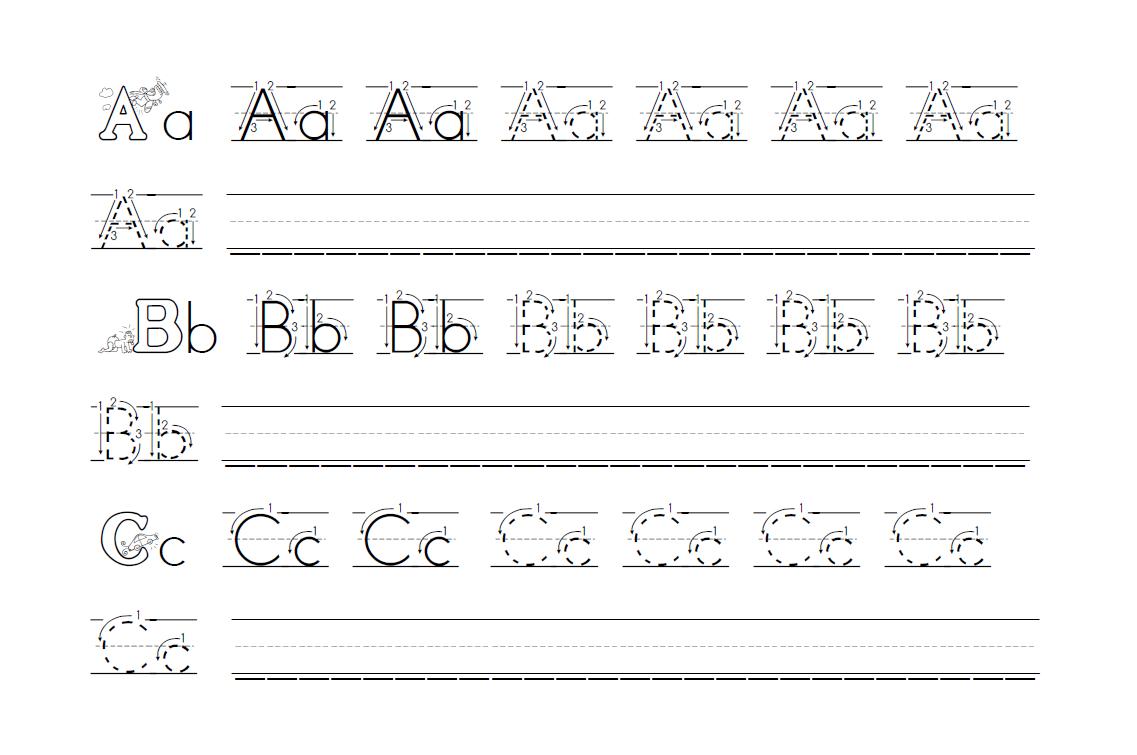 Handwriting Practice Sheets - Free Handwriting Worksheets - 3 Styles - Free Printable Worksheets Handwriting Practice