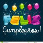 Happy Birthday In Spanish Stock Vector. Illustration Of Card   29860125   Free Printable Happy Birthday Cards In Spanish