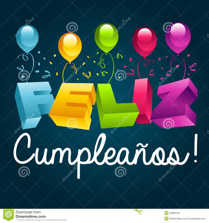 Free Printable Happy Birthday Cards In Spanish