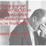 Happy National Boss Day #funny | National Boss Appreciation Day 2018   Happy Boss Day Cards Free Printable