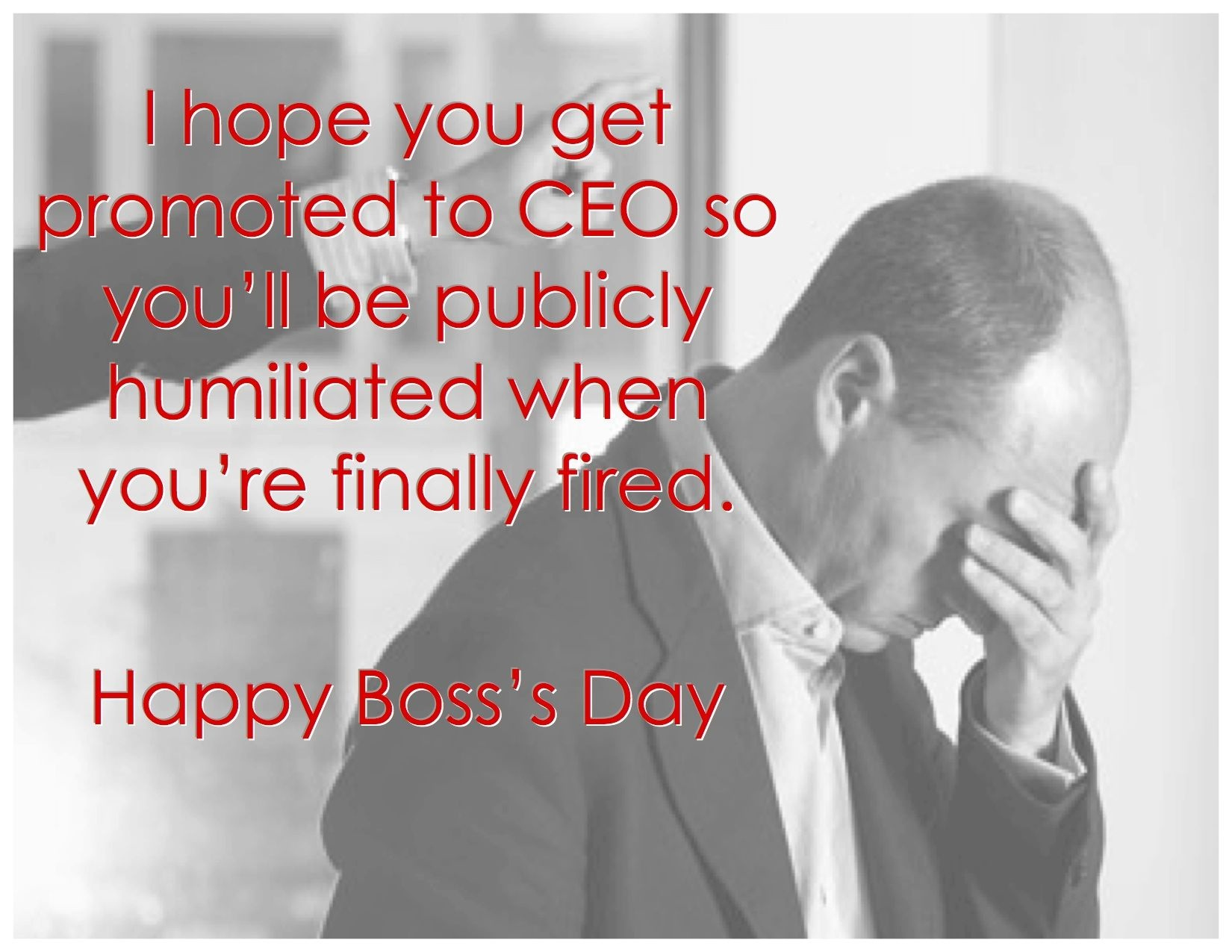 Happy National Boss Day #funny | National Boss Appreciation Day 2018 - Happy Boss Day Cards Free Printable
