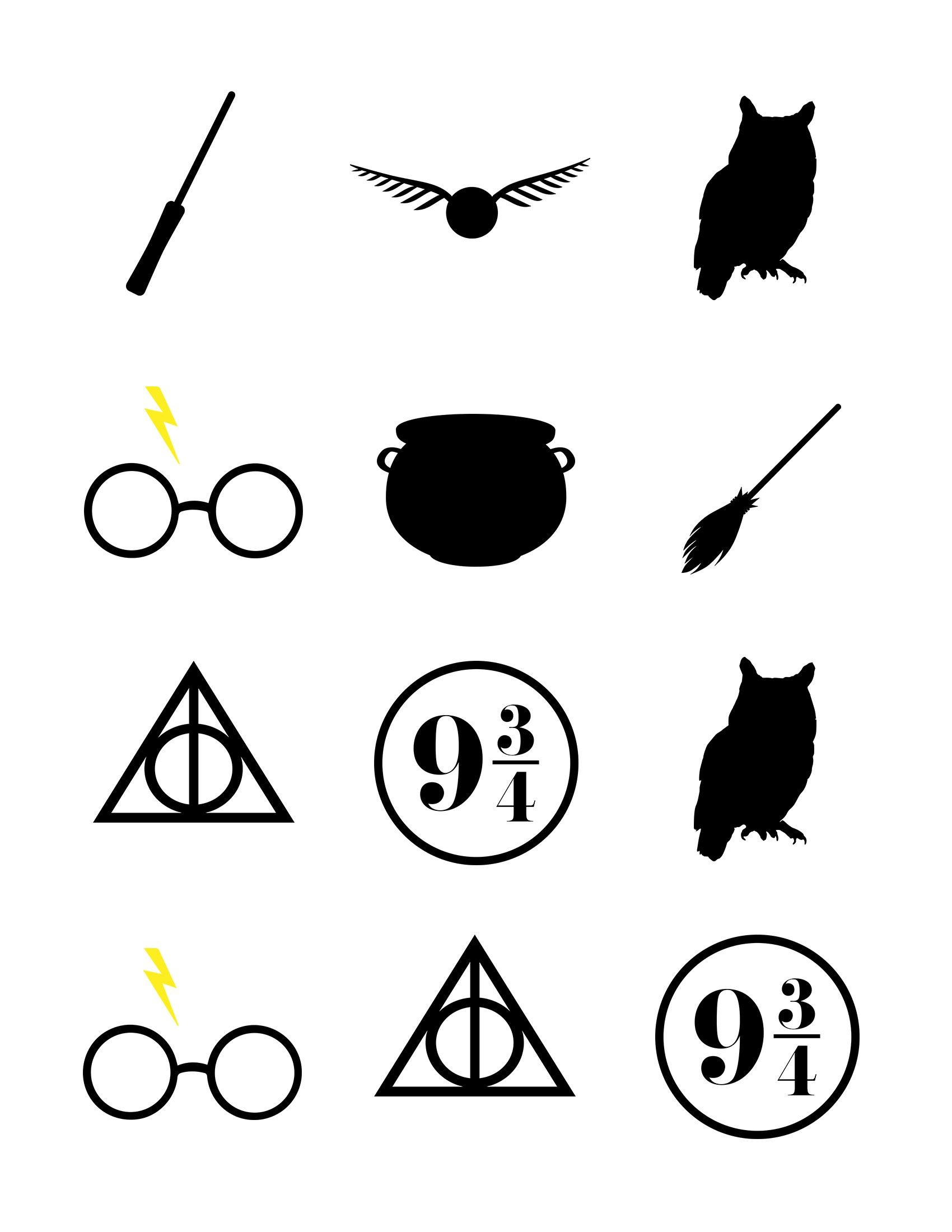 Harry Potter Baby Shower | Harry Potter Stuff | Harry Potter Baby - Free Printable Harry Potter Clip Art