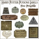 Harry Potter Potion Label Printables | Diy Home Decor Ideas | Harry   Free Printable Potion Labels