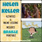 Helen Keller Lesson Plans Elementary Middle School   Kids Creative Chaos   Free Printable Pictures Of Helen Keller