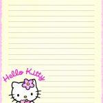 Hello Kitty | Borders,stationary,backgrounds | Hello Kitty Wallpaper   Free Printable Hello Kitty Stationery